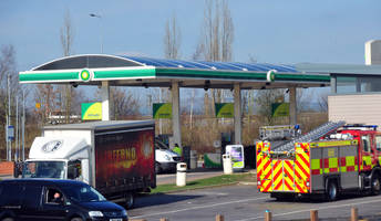 cash stolen in knife raid at uttoxeter's bp garage